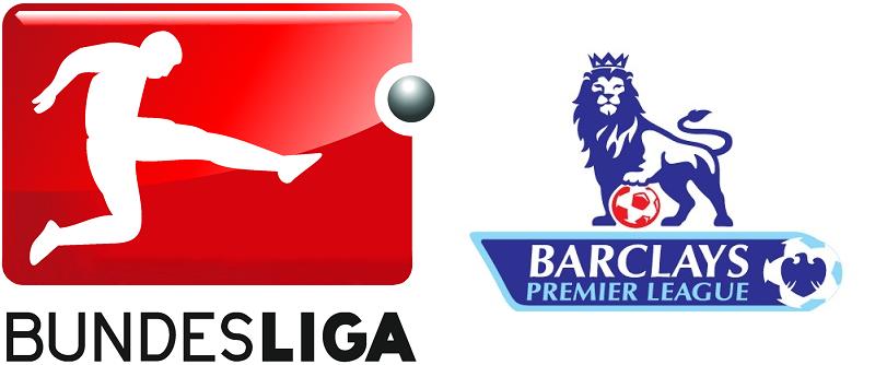 Bilderesultat for premier league and bundesliga